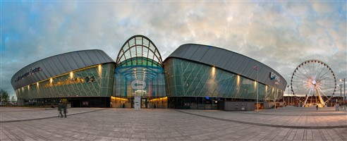 ACC Echo Arena waterfront Liverpool