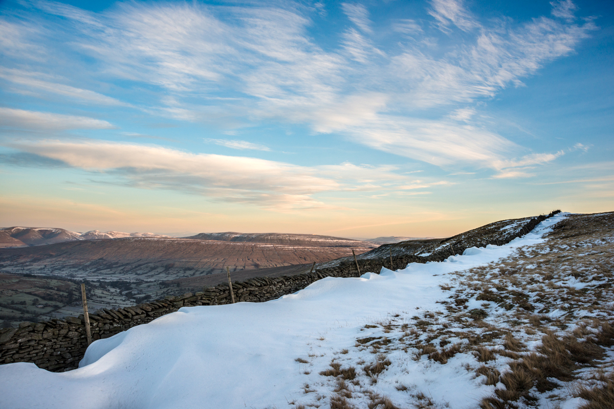 McCoy Wynne landscapes whernside snow