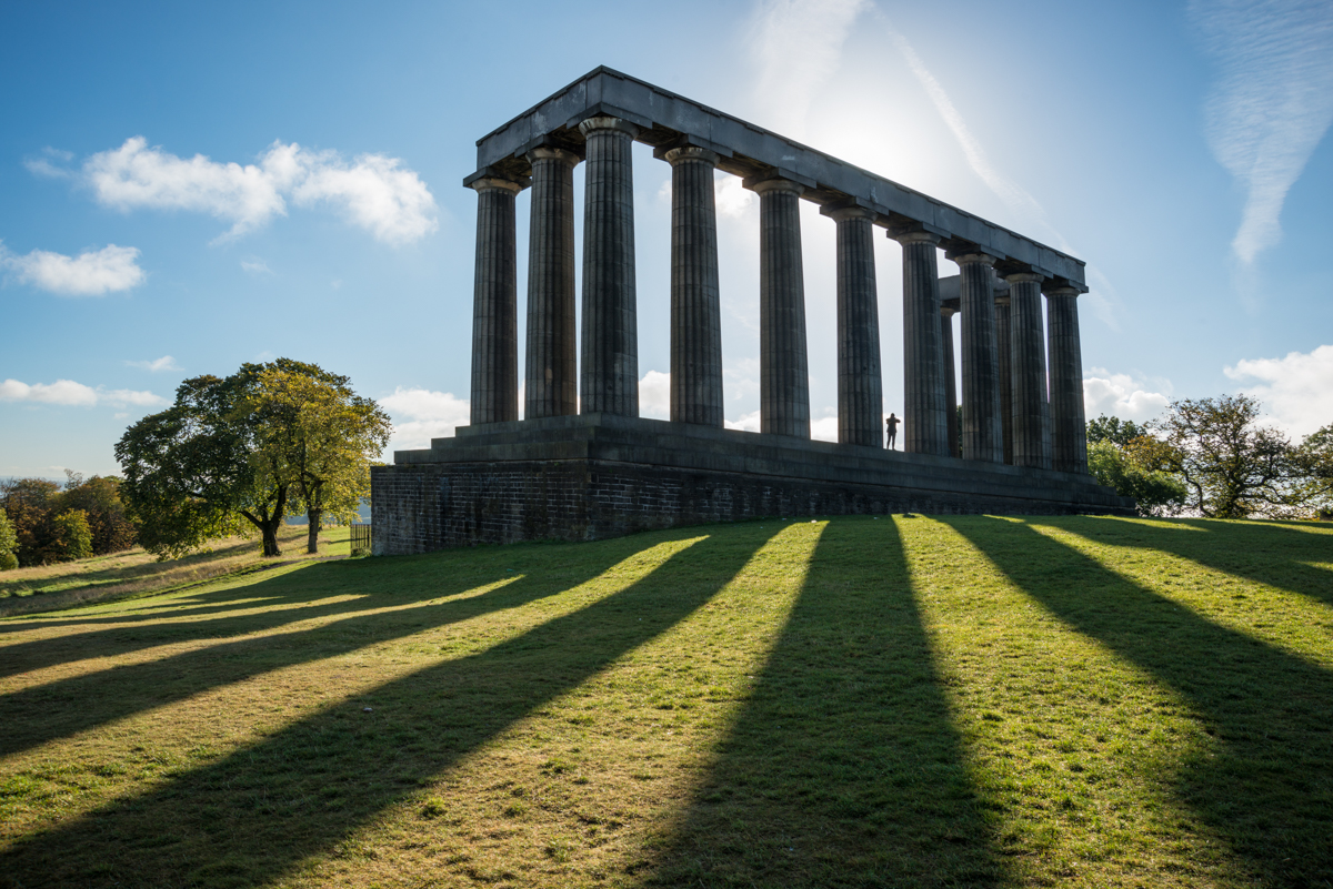 Parthenon Calton Hill Scotland